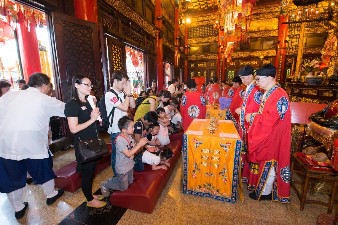 2016 黃大仙師上契結緣儀式 10