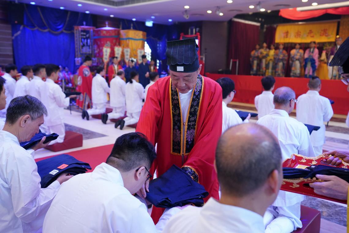 Taoist School Admittance Rite