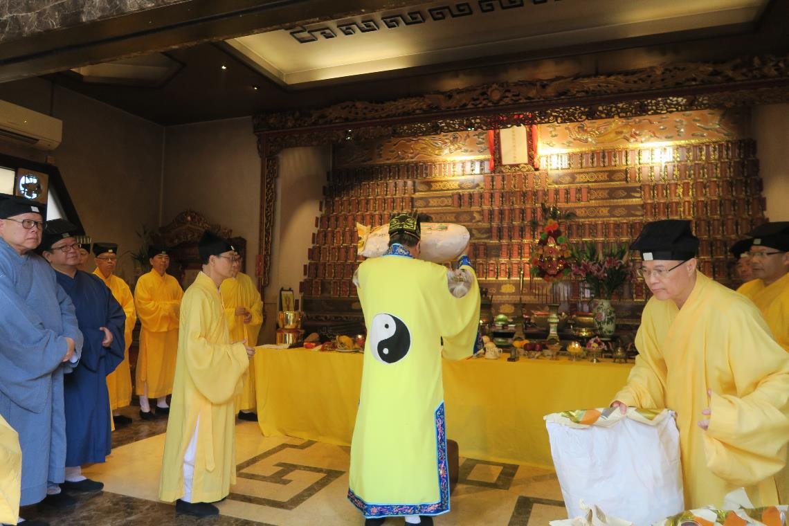 Offering Respects to Late Priests