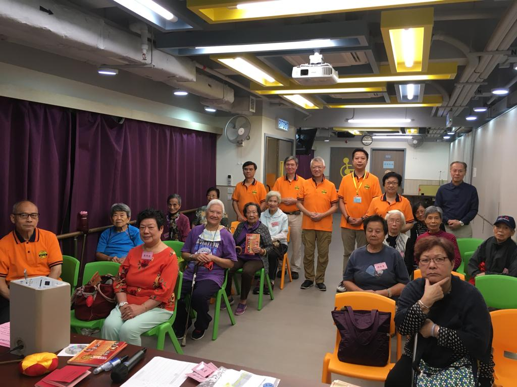 Elderly Chanting Group
